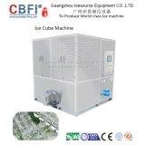 Máquina de gelo do cubo de /24h de 1 tonelada para comer humano