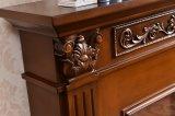 ホテルの家具の木製の炎の電気暖炉(321B)