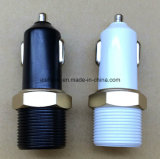 Beste Qualität 5V 2.1A verdoppeln USB-Auto-Aufladeeinheit, eindeutige Form USB-Auto-Aufladeeinheit