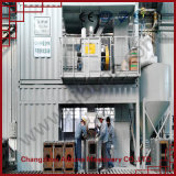 Usine sèche spéciale containerisée mobile de poudre de mortier