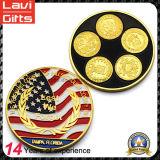 고품질 다채로운 금속 기념품 동전