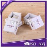 Caixa com dobradiça de papelão de papelão Atacado Caixa de embalagem de relógios para homens