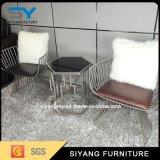 ホーム家具の鉄アーム椅子のレストランの椅子