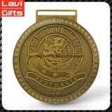 Diseño hábil precio de fábrica de encargo Medallas de lucha