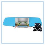 5 espelho de carro da polegada 1080P com a câmera de vista traseira