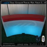 現代RGBの再充電可能な立方体椅子によって照らされるLEDの家具
