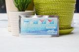 non dents avancées du peroxyde 3D blanchissant des bandes avec propres dents d'étiquette