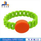 Vario Wristband impermeabile del silicone dei chip RFID per le piscine