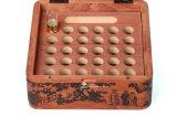 Productos de madera lúbricos del cuidado médico del achiote que empaquetan el rectángulo
