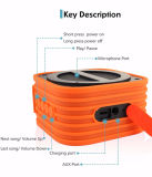 Ipx6 imprägniern mini beweglichen Bluetooth Radioapparat-Lautsprecher