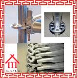 테스트 반지 자물쇠 시스템 Scafold 의 강철 반지 자물쇠 비계