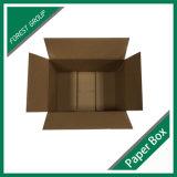 Rectángulo de encargo del cartón del envío de cuatro solapas