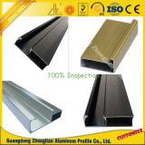 Profil en aluminium enduit anodisée/de poudre extrusion pour des Modules de cuisine