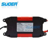 Suoer 12V 6A elegante inteligente rápido cargador de batería para la batería recargable (DC-W1206A)