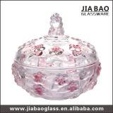 新しいデザイン装飾的なガラス瓶(GB1825XL)