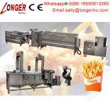 Chaîne de production complètement automatique professionnelle de pommes chips machine