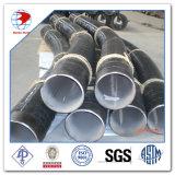 45D 3D Bw ASTM A234 Wpb ANSI B16.49の工場パイプベンド