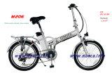 Garanzia elettrica a basso rumore eccellente di Ebicycle della città della bici certificata En15194 del Ce dell'onda di seno M206 2 anni