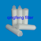 0.2 micrones PP plisaron el filtro del cartucho para la filtración del agua