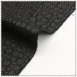 91%Polyester 9%Wool schwarzes Woolen Gewebe für Oberes