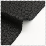 ткань 91%Polyester 9%Wool черная шерстяная для шинели