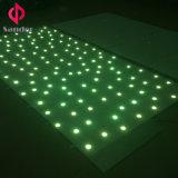 Luz a todo color de Dance Floor de la estrella del RGB 3in1 LED para el partido del Weeding
