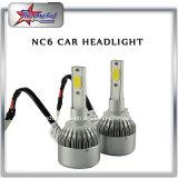 Vendita 9005 popolari della fabbrica chip della PANNOCCHIA del faro dell'automobile dei 9006 LED con il kit del faro dell'automobile del ventilatore H11 H7 LED