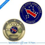 Moneta promozionale su ordinazione della difesa di /Challenge/Us del ricordo dell'oro della polizia