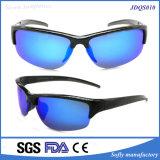 Het Cirkelen van de Goede Kwaliteit van Soflying de Model Plastic Gepolariseerde Zonnebril van de Sport Eyewear