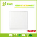 Des Aluminium-595*595recessed LED quadratische dünne LED Instrumententafel-Leuchte der Leuchte-130lm/W
