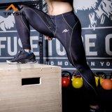 人のレギングのためのメンズ体操の摩耗のスパンデックスの体操の摩耗