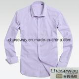 Tela 100% tecida quente do Poplin de algodão dos vendedores para a camisa