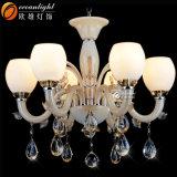Vidrio cristalino de la vela de la iluminación del océano para las lámparas pendientes Omc027 de la vela de la lámpara del dormitorio