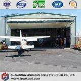 La Nouvelle Zélande a délivré un certificat le hangar en acier préfabriqué d'avions
