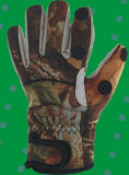Los guantes de neopreno de camuflaje para Caza y Pesca (HX-G0016)