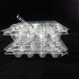 Cadre en plastique clair remplaçable de plateau d'oeufs de la Chine pour le module de cailles (cadre en plastique de plateau)