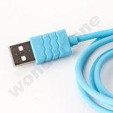 Wavy Pattern USB Cable for Mobile Phone