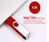 OEM Aangepaste Aandrijving van de Flits USB van het Embleem OTG