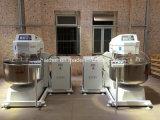 Misturador de massa de pão removível da farinha grande industrial do dobro da capacidade