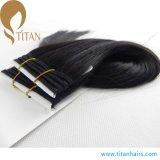 Het hete Natuurlijke Zwarte Braziliaanse Ruwe Menselijke Haar van de Verkoop