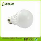 Do Ce plástico da luz de bulbo do diodo emissor de luz do fornecedor de China bulbo energy-saving do diodo emissor de luz do poder superior 7W SMD5730 da luz de bulbo do diodo emissor de luz de RoHS