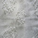 Ткань жаккарда полиэфира шифоновая для повелительницы Одевать и ткани рубашки