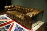 Retro sofà di alluminio del salone