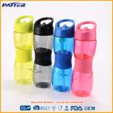 Подгонянная пластичная бутылка воды с сторновкой & ручкой