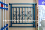 Barandilla de acero galvanizada decorativa de alta calidad 31 del balcón de la aleación de Haohan Alluminum