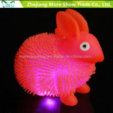 Nouveauté Colorful Puffer Yoyo Rabbit Toys Light Up Ball