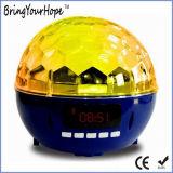 De kleurrijke Magische Spreker van Bluetooth van de Glans van de Lichten van het Stadium van de Kristallen bol (xh-ps-682)