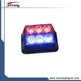 Tête de voyant d'alarme de feux de signalisation de lumière de tableau de bord de DEL (LED214B)