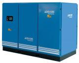 Dos etapas de compresión de aceite engañado tornillo compresor de aire industrial (KD75-10II)