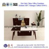 Таблица офиса менеджера мебели Гуанчжоу деревянная с ногой металла (M2615#)